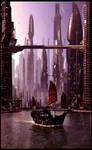 Futuristic City 7 Dusk