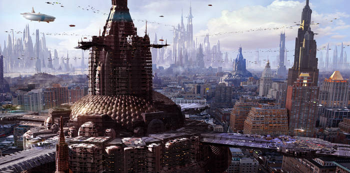 2130 Future City by Scott Richard