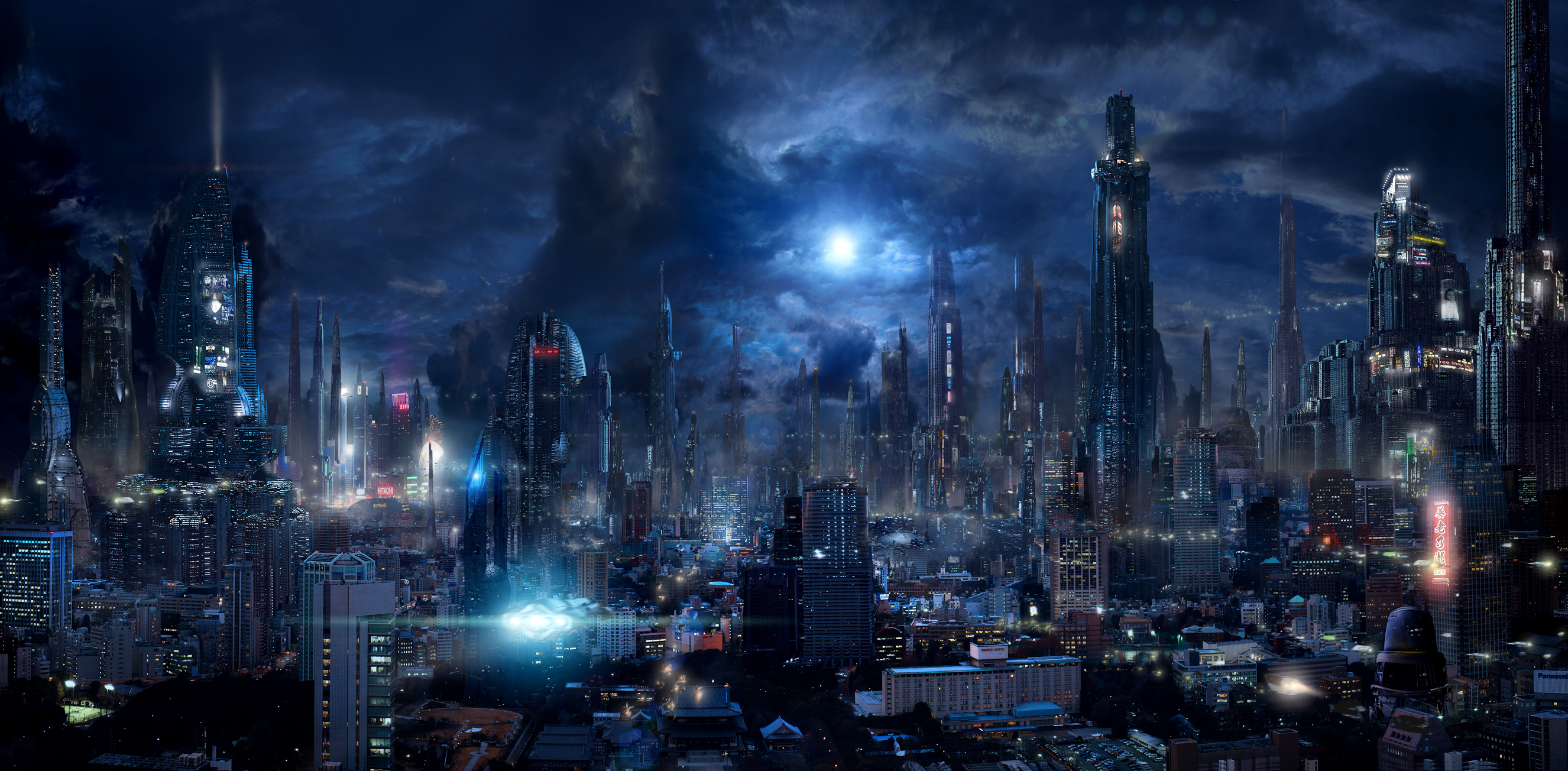 Future City 9 by rich35211 on DeviantArt