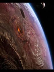 Final Star Wars Rogue One Death Star Jehda Test by rich35211