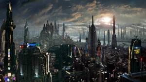 Matte Painting Future City Amazing Facts