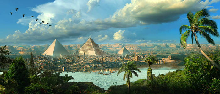 Egypt Matte By Scott Richard