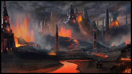 Volcanic Temple by rich35211