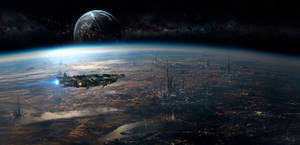 Sci Fi Matte Painting  091917
