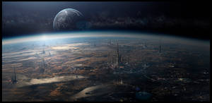 Sci Fi Matte Painting  091917 by rich35211