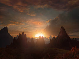 Fantasy Sunset by Scott Richard by rich35211