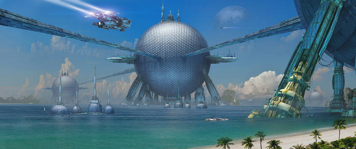 Tropics Sci Fi by rich35211