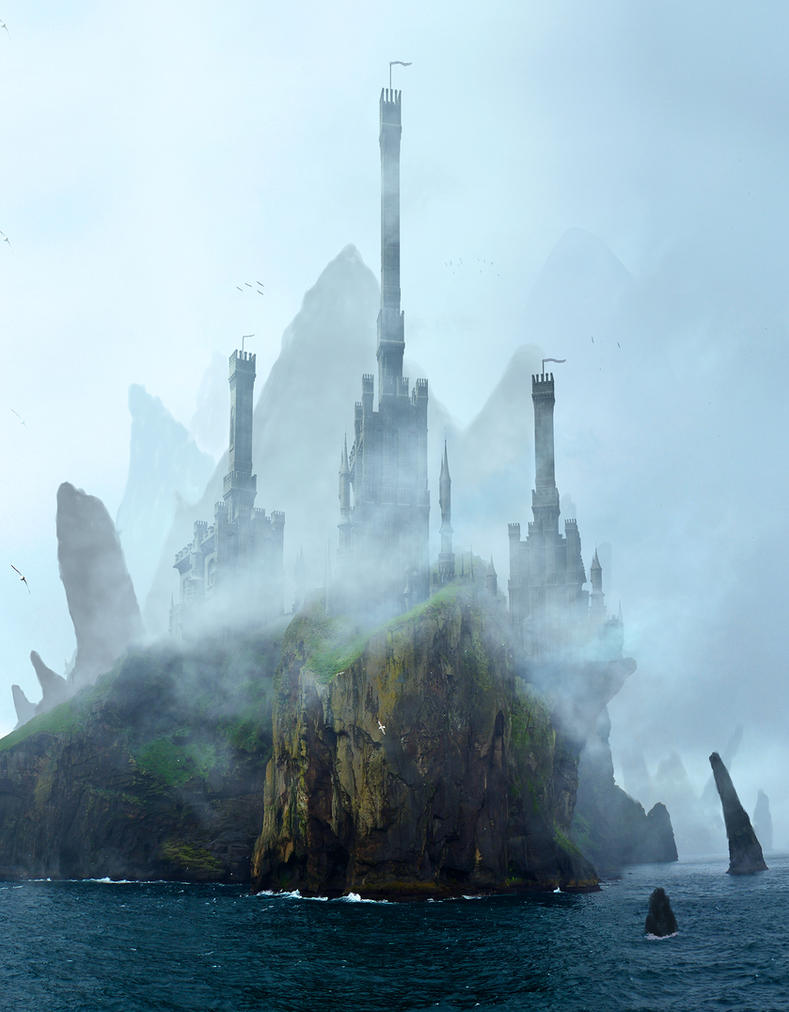 Misty Castle by rich35211