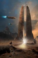 Sci-Fi Desert Temple 09.16.19