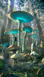 Ancient Mushroom Forest by Scott Richard 04.08.21 by rich35211