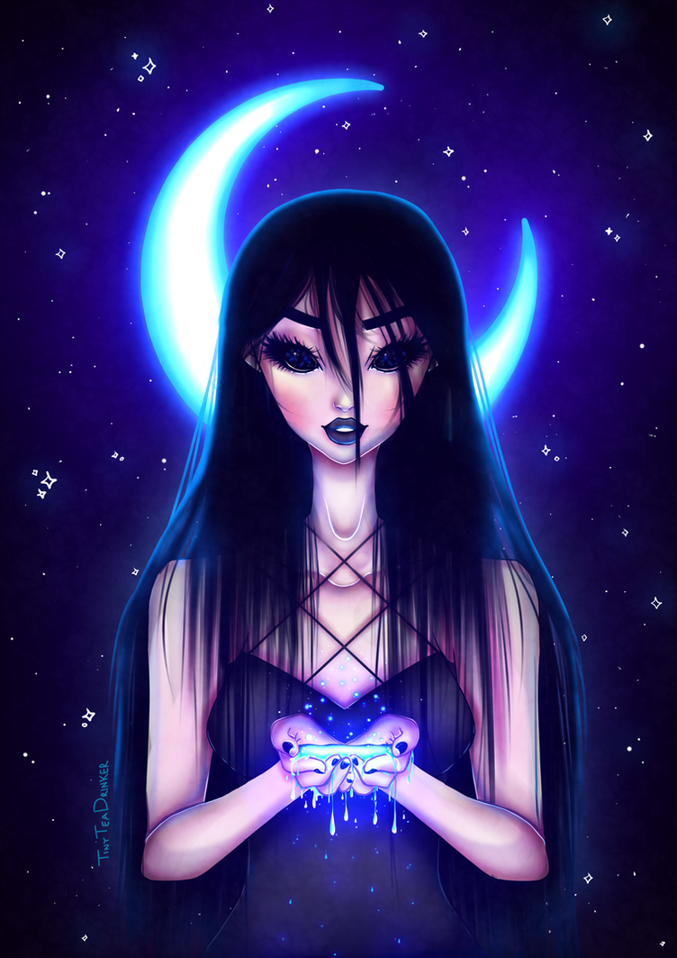 Bathe in the Moonlight by TinyTeaDrinker