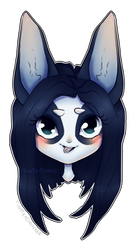 Alex Chibi Head by TinyTeaDrinker