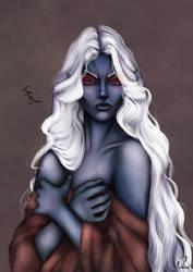 Dark Elf Portrait