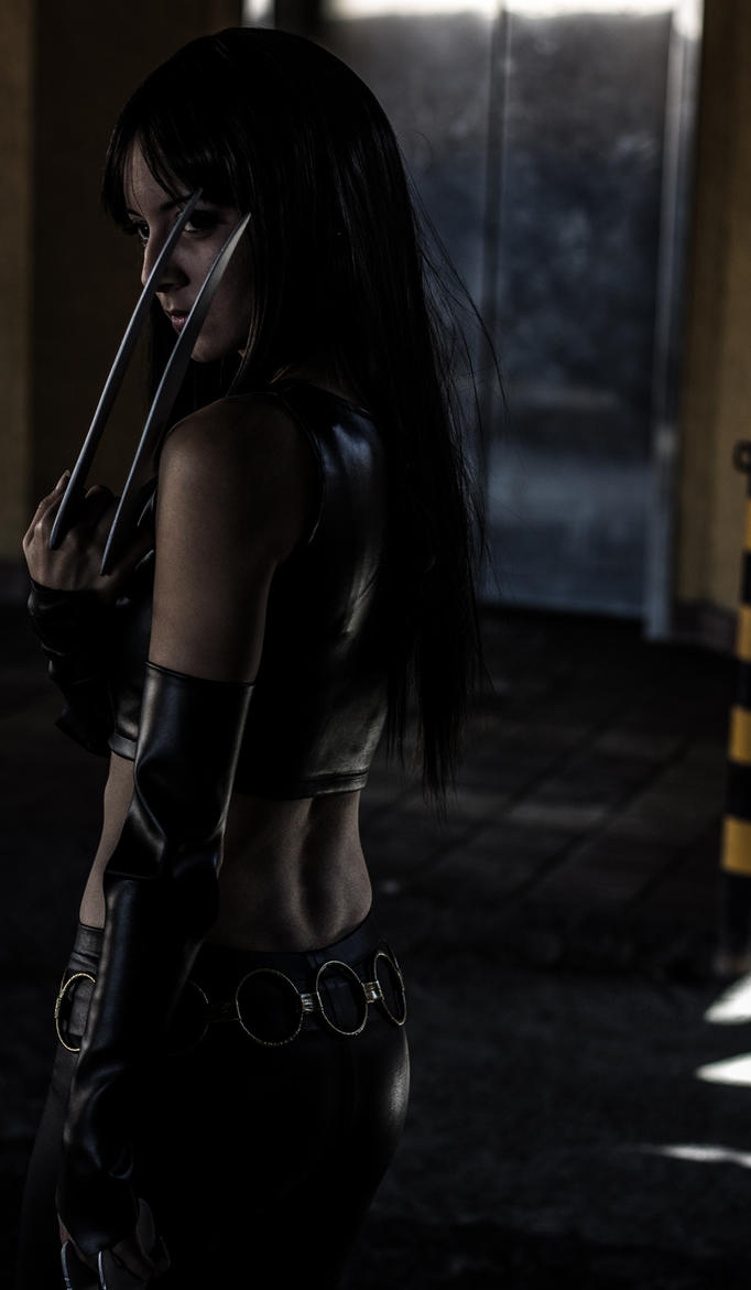 X-23 cosplay by RoCazanova