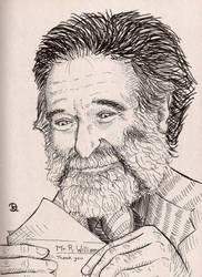 Robin Williams Illustration