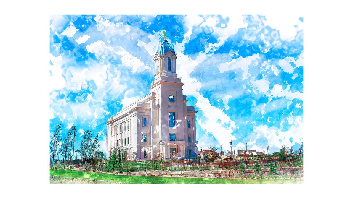 Cedar City LDS Temple 1080p Wallpaper By Seliasjames