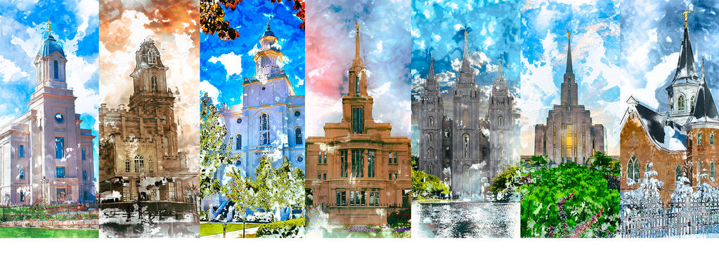 LDS Temples - Facebook Cover Image by seliasjames on DeviantArt