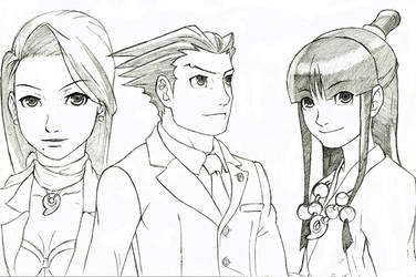 Ace Attorney Phoenix Wright and Co