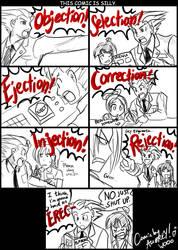 OMG, OBJECTION. by ojamajodoremidokkan