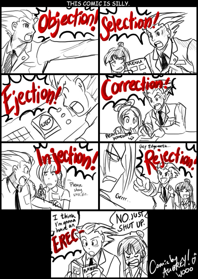 comic gracioso OMG__OBJECTION__by_ojamajodoremidokkan