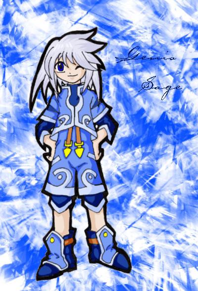 Genis Sage by ojamajodoremidokkan