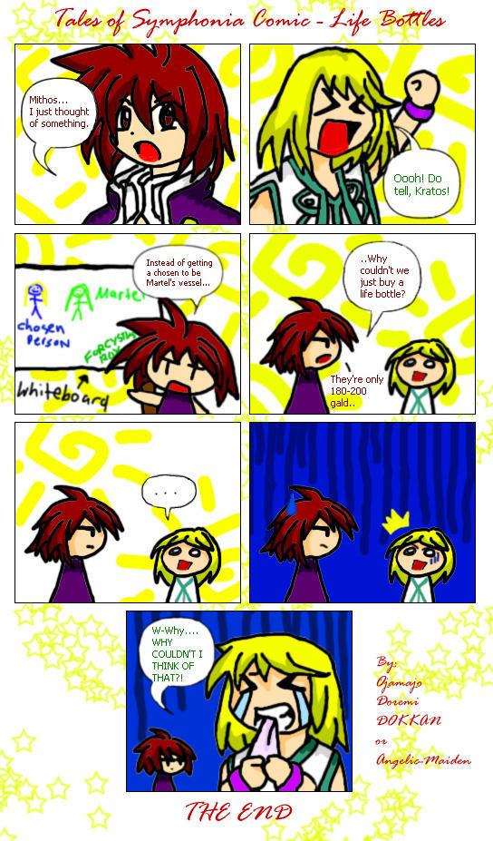 A ToS Comic :SPOILERS: by ojamajodoremidokkan