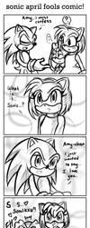 Sonic APRIL FOOLS Comic by ojamajodoremidokkan