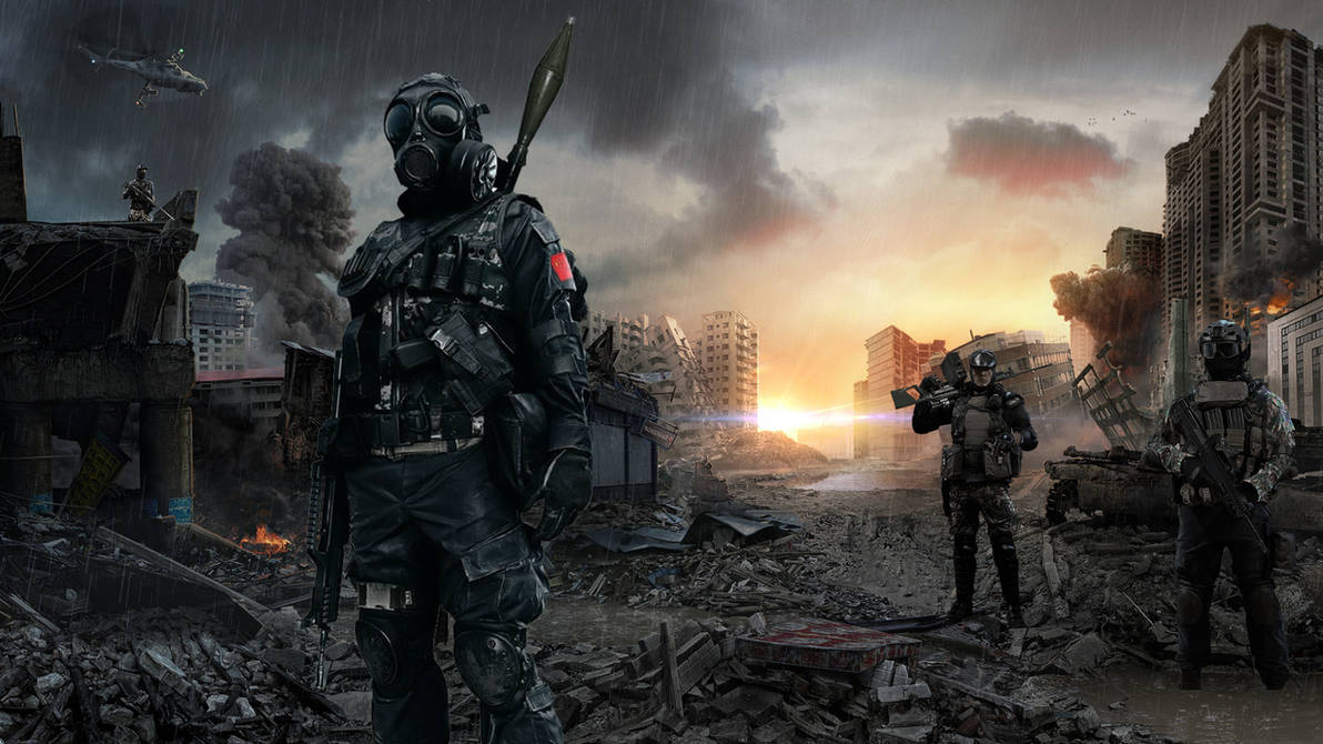 BF4 Warzone Wallpaper - Chinese Troops by thetruemask ...