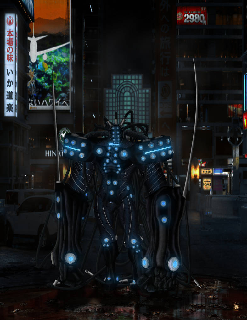 Gantz - Hard Suit Art