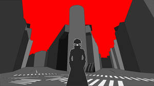 Persona 5 - Joker Shibuya Wallpaper