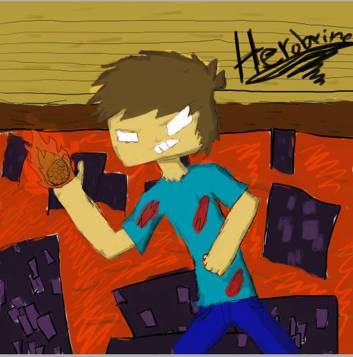 Herobrine by catgirl2412