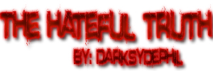 The Hateful Truth Logo by MTS3
