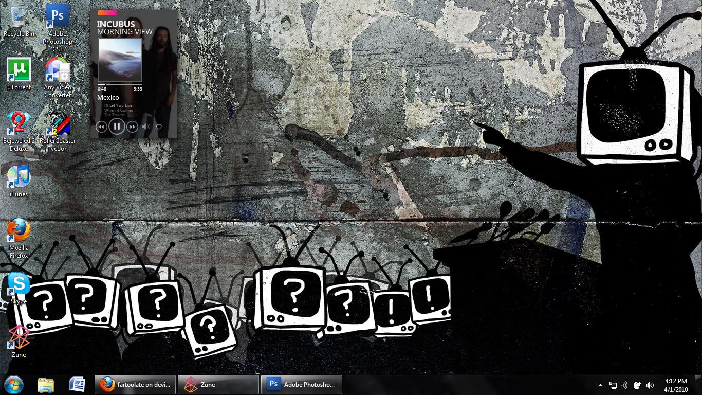Desktop Screenshot by fartoolate