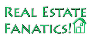Real Estate Fanatics logo by fartoolate