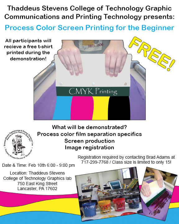 Screen Printing Seminar Flyer By Fartoolate On Deviantart