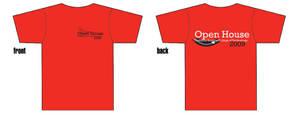 Open House T-Shirt by fartoolate