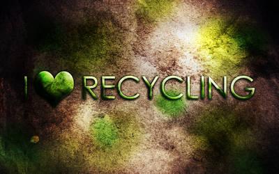 I heart Recycling