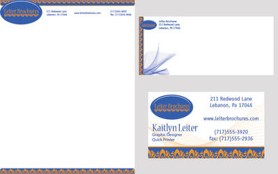 Leiter Brochures Stationary