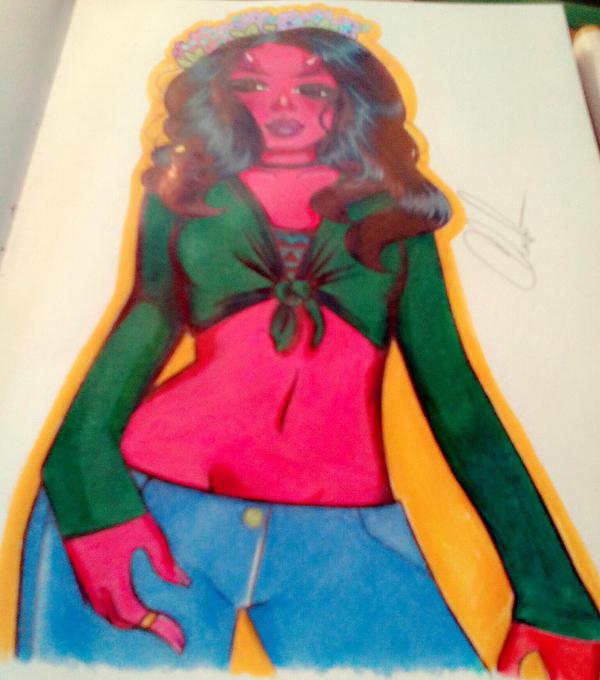 red devil by charlisa