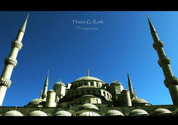 The Blue Mosque by H-G-K