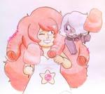 CE: Rose Quartz and Amethyst