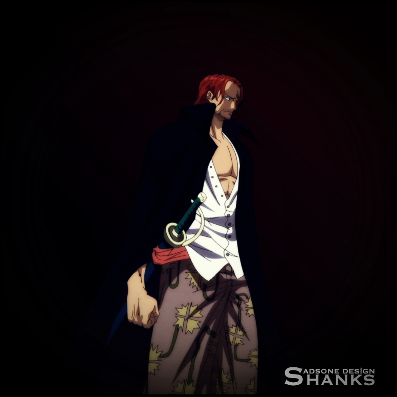 One Piece Shanks by Adonis90