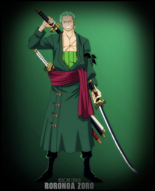 One Piece Roronoa Zoro 2 By Adonis90