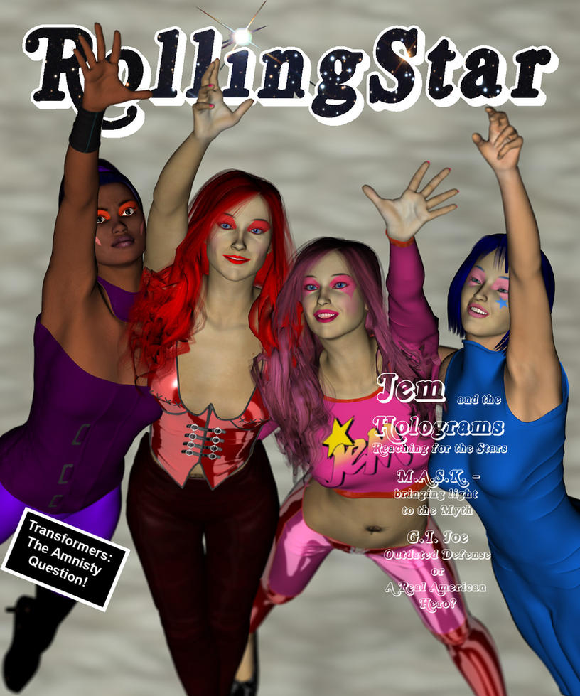 Jem Rolling Star Cover by knighted-feline