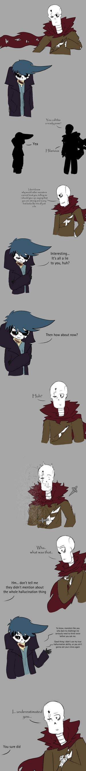 Never underestimate Rotis' ability by Scribbleshadows