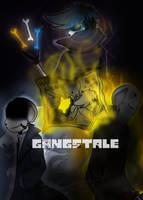GANGSTALE Official Poster by Scriblotixsketchex