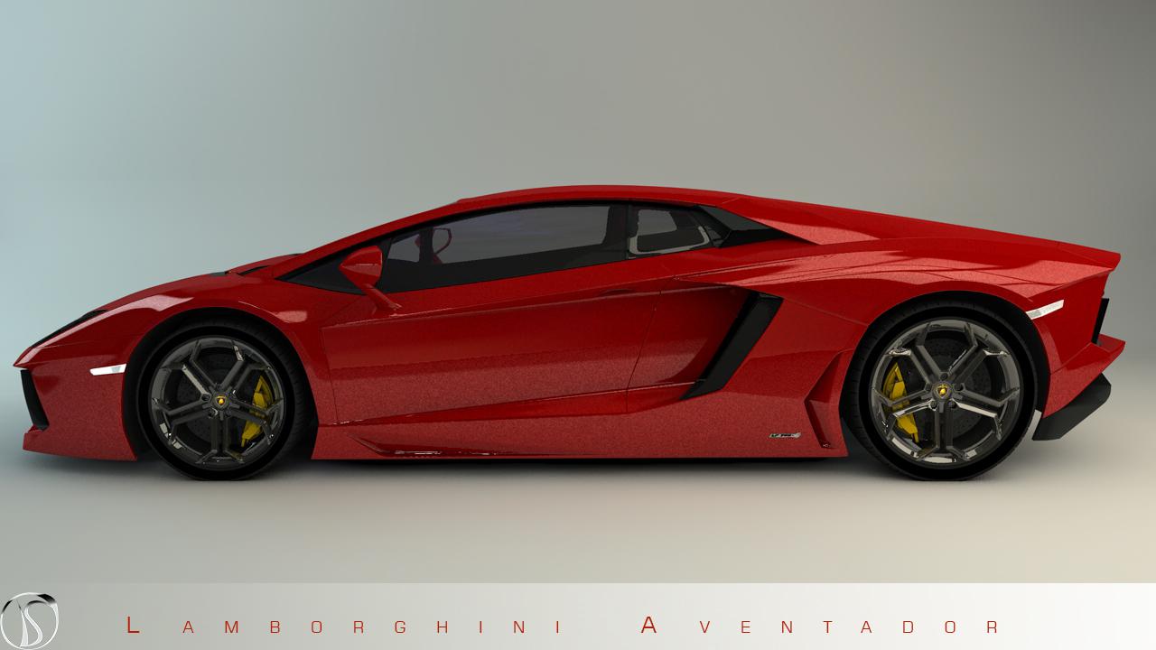 Lamborghini Aventador Concept by philphilos on deviantART