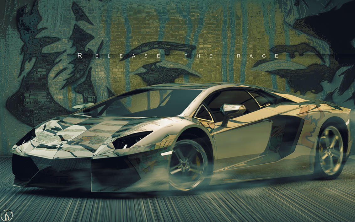 Aventador Chrome, Release the rage. by philphilos on ...