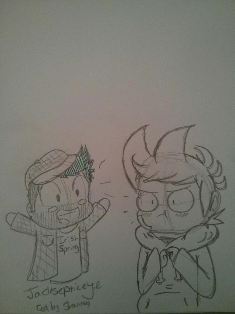 Random School Sketches by DeanEggs