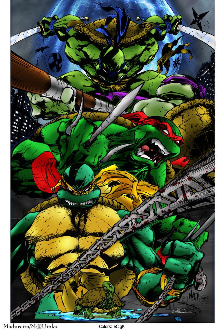 Ninja Turtles Colors